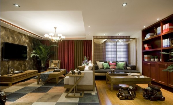 客厅+休闲区