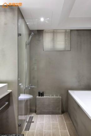简约 混搭 二居 收纳 小清新 文艺青年 旧房改造 卫生间图片来自幸福空间在70m²文青与白领品味混搭的分享