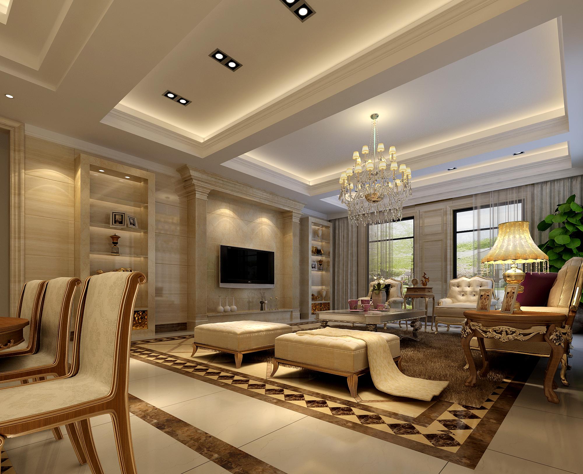 欧式 混搭 客厅图片来自孔一程在凤凰城别墅的分享