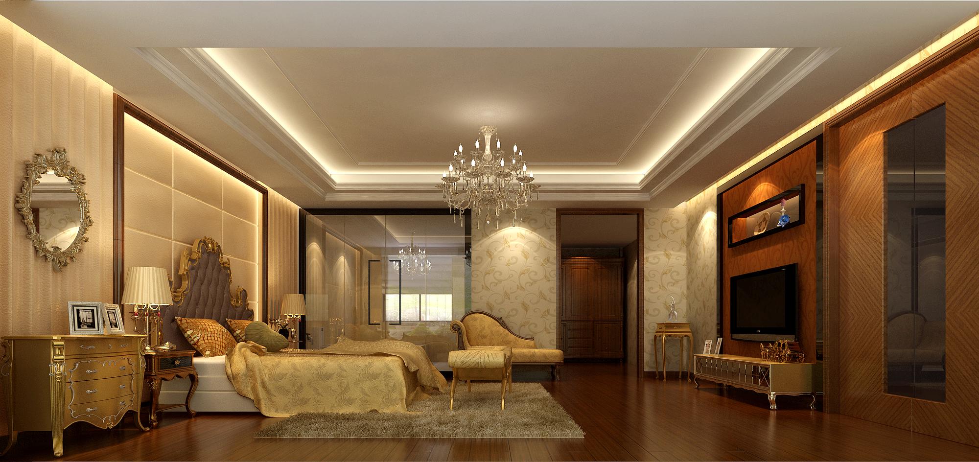 欧式 混搭 卧室图片来自孔一程在凤凰城别墅的分享