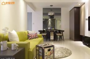 简约 混搭 二居 收纳 小清新 文艺青年 旧房改造 客厅图片来自幸福空间在70m²文青与白领品味混搭的分享