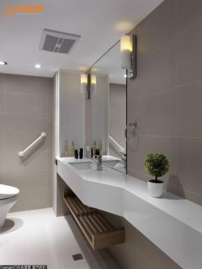 北欧 简约 三居 旧房改造 温馨 舒适 收纳 卫生间图片来自幸福空间在北欧时尚96 m²以爱迎接新生的分享