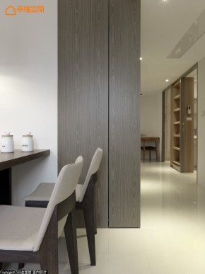 北欧 简约 三居 旧房改造 温馨 舒适 收纳 餐厅图片来自幸福空间在北欧时尚96 m²以爱迎接新生的分享