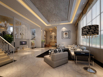 富怡四区别墅-现代风格-270平米