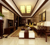 锦绣半岛-新中式风格-三居室