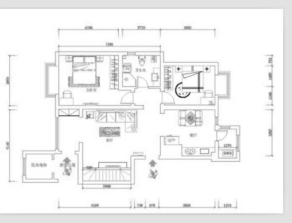户型说明 本户型为大港剑桥港湾-107平米两室两厅一厨一卫-现代简约设计。 进门:右边餐厅、中间过道,餐厅与厨房紧靠、客厅与次卧中间是主卫,此户型敞亮、空间大,通风顺畅。