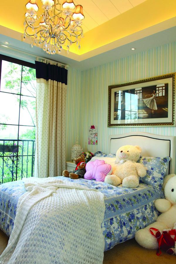 儿童房温馨明亮,色彩搭配清新不失活泼!