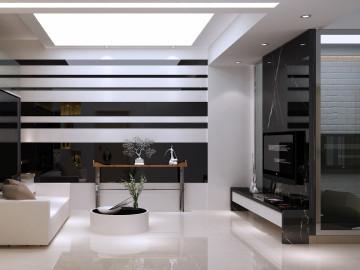 金沙丽水-现代风格-单身公寓