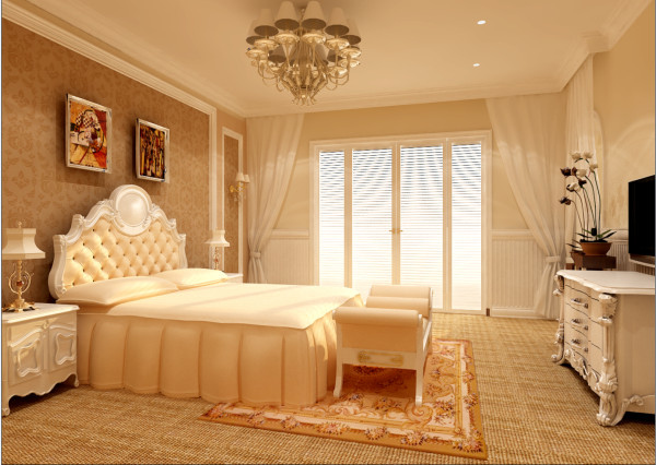 主卧新建墙体,放置嵌入式的衣柜,增大空间的使用率