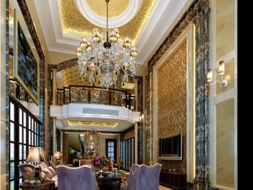 5居室-古典欧式风格-富丽而华贵