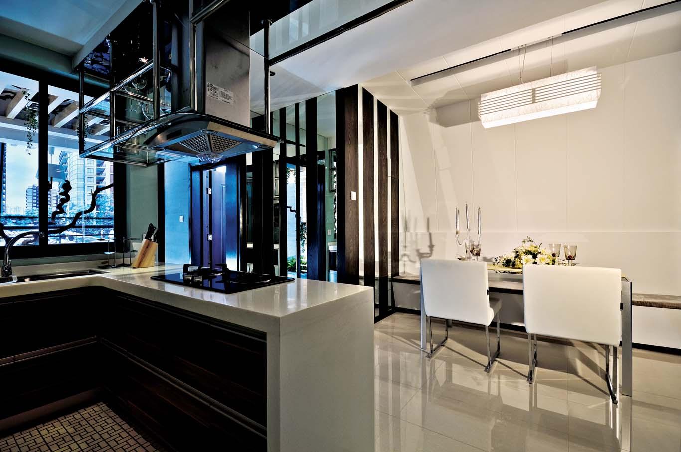 厨房图片来自成都龙发装饰公司在四海逸家 新古典设计案例的分享
