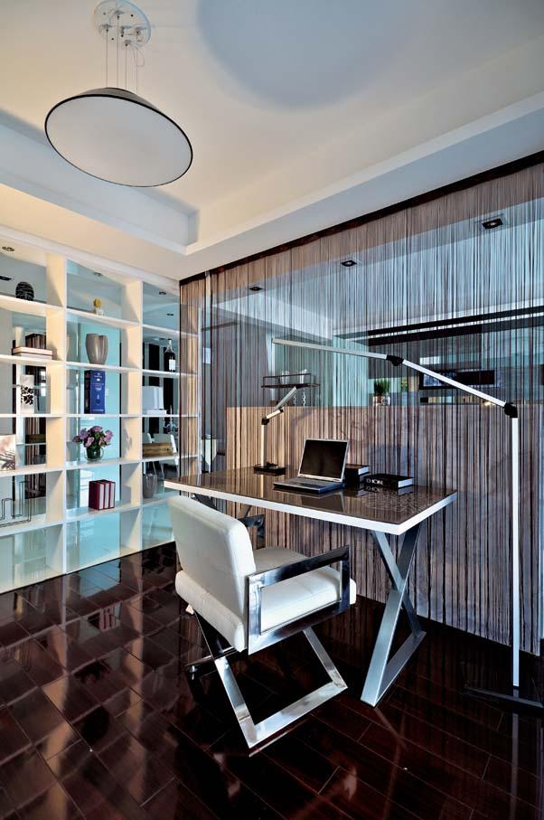 书房图片来自成都龙发装饰公司在四海逸家 新古典设计案例的分享