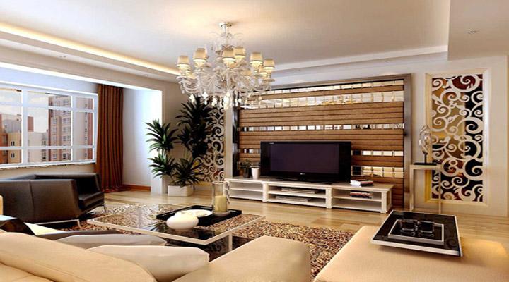 客厅图片来自今朝装饰——李胜晓在金色漫香郡的分享