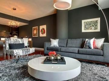 大胆搭配色彩的丰富优雅两居室