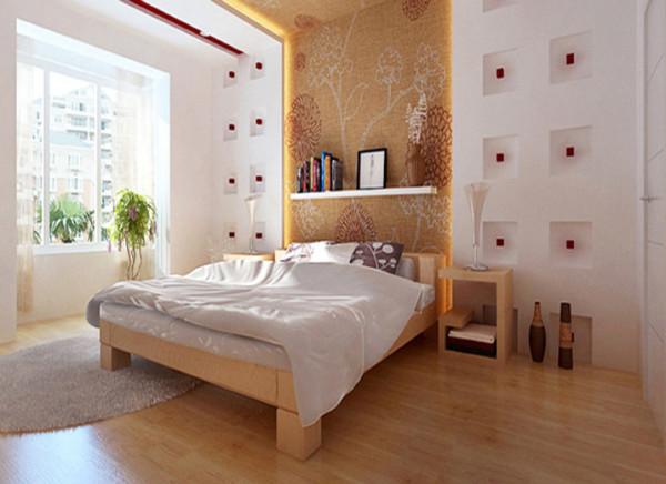 卧室不需要太多设计的东西,简单的造型就可以让人觉得很舒服,放松。