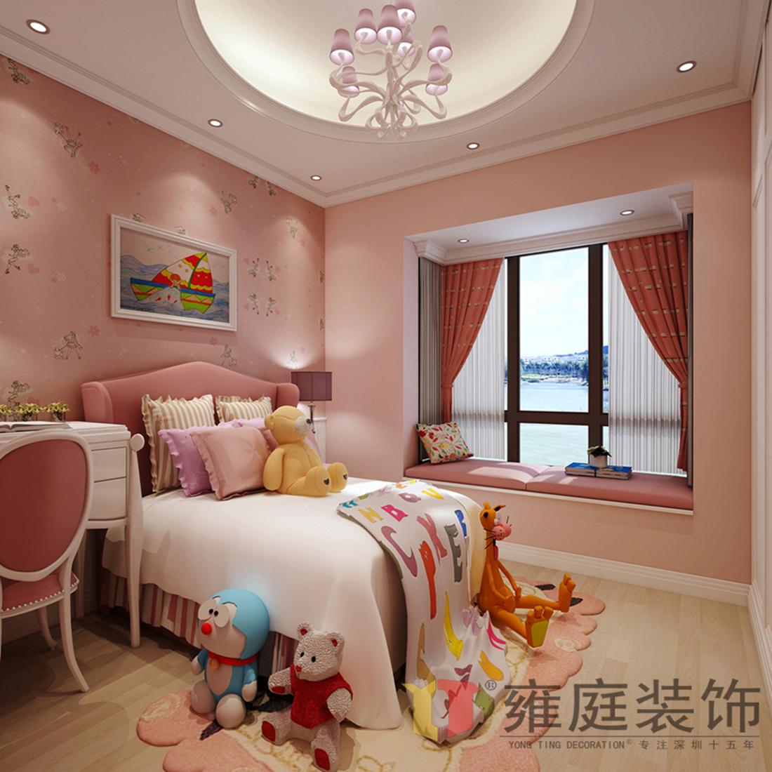 简约 欧式 白领 旧房改造 小资 卧室图片来自深圳雍庭装饰在聚豪园的分享
