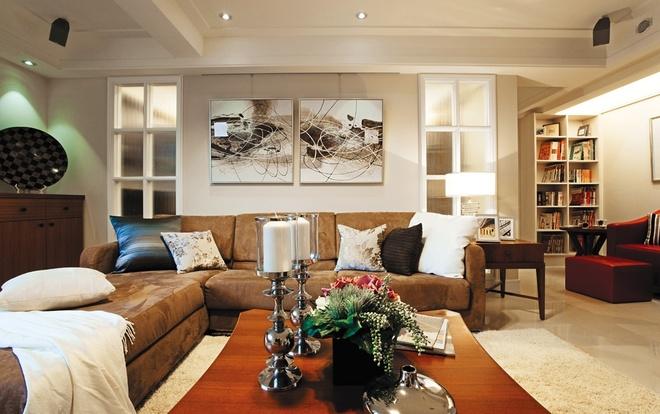 北欧田园 两居 温馨 客厅图片来自合建装饰李鑫在优雅古典的北欧田园家的分享