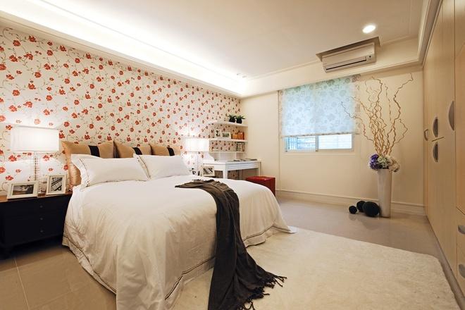 北欧田园 两居 温馨 卧室图片来自合建装饰李鑫在优雅古典的北欧田园家的分享