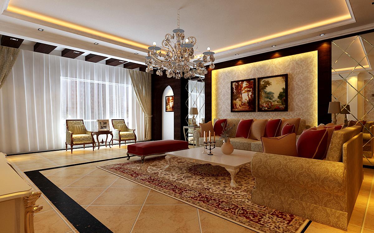 欧式 百家装饰 沈阳装修 客厅图片来自瑞家装饰小庞在欧式风格装修设计的分享
