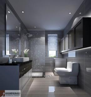简约 现代 公寓 四居 白领 80后 白富美 高富帅 温馨 卫生间图片来自北京高度国际装饰设计在四合上院现代风情的分享