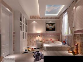 混搭 复式 别墅 80后 白领 舒适 温馨 儿童房图片来自北京高度国际装饰设计在旭辉御府中西混搭的分享