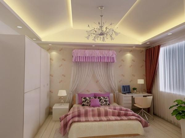舒适 优雅的公主房