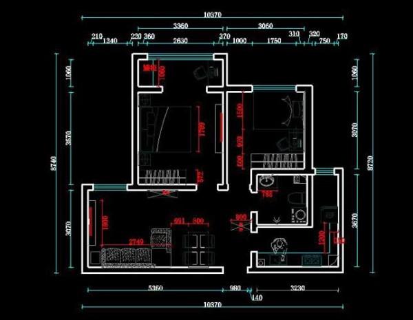 户型分析 本案为雷翠之大港海川园两室一厅87平米的房型设计,主要采用了现代简约风格的设计手法,以简洁明快为主要特色,重视室内使用功能,强调室内布置应该按功能区分的原则进行,家具布置与空间密切配合