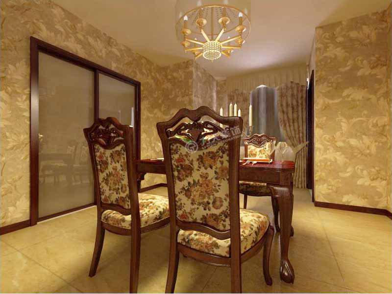 欧式 三居 收纳 旧房改造 80后 小资 餐厅图片来自阳光力天装饰糖宝在星河荣御122㎡的分享