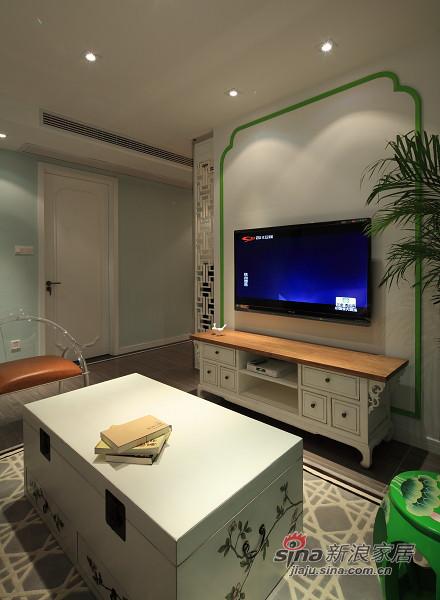 简便的电视背景墙,简单的玄关,简单的茶几和柜子,,,这样的搭配是不是没那么简单