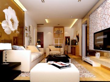 现代风格-三居室-110平米