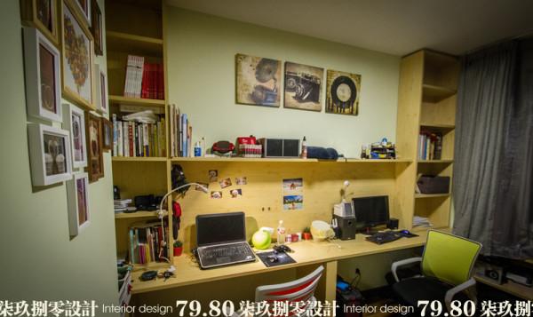 七九八零,室内设计机构,旧房改造,简约风格,卧室设计