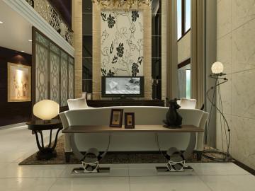 中国美林湖-别墅设计-新中式风格