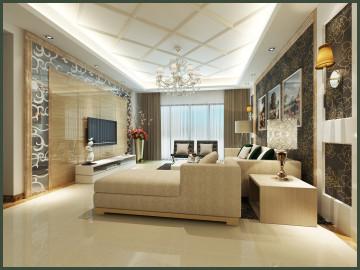 简欧风格-140平米-4居室