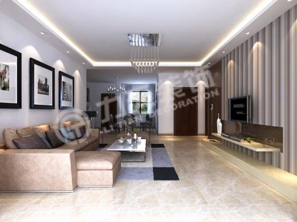 客厅:大开间客厅与卧室精致一体,自在心情无障碍穿行,悠然自得。