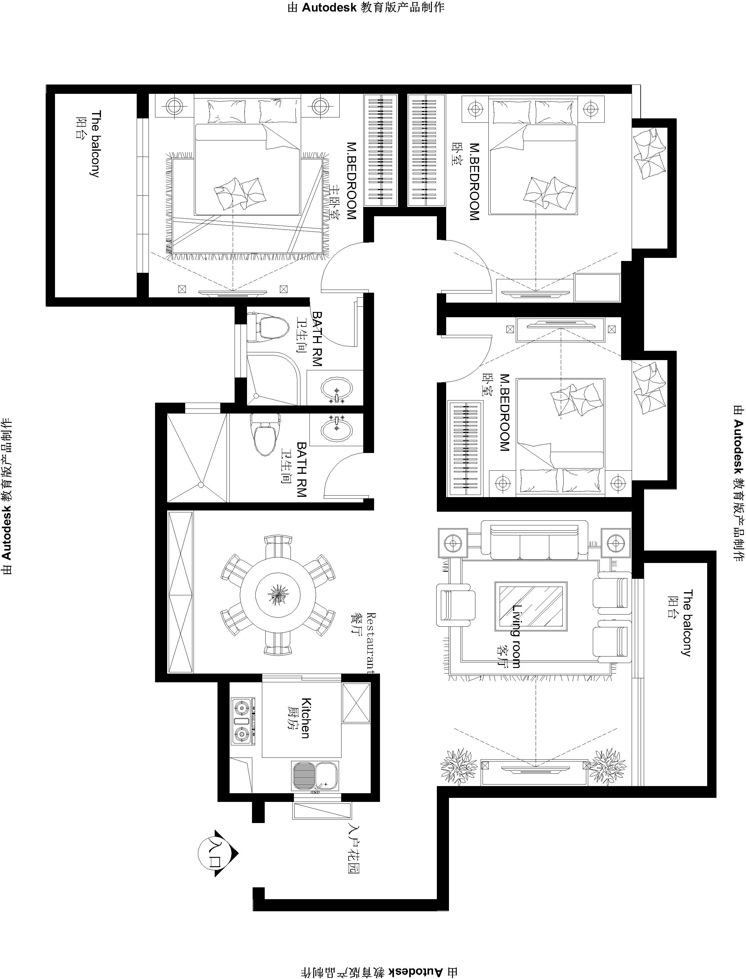 御东和府 现代 中式 140平米 三居 家居 生活 装修 报价 户型图图片来自徐丽娟在御东和府-现代中式风格-三居室的分享