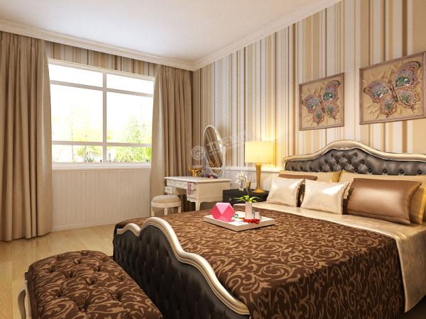 两个卧室阳光充足、卫生间恰到好处。