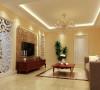 100平两居室简欧风格装修