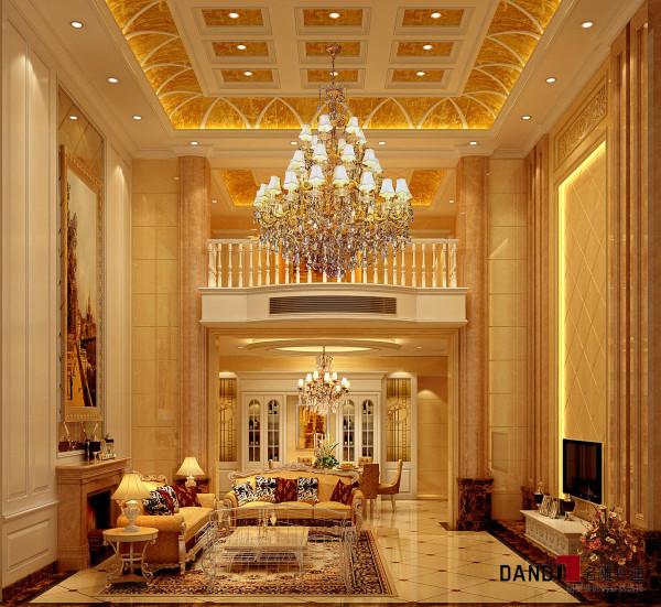 名雕设计——正龙豪苑——欧式客厅:利用欧陆的典雅细致,用现代的设计手法表达出现典雅的气派,运用半米黄大理石加以啡色大理石作对比,使房子有更大的延伸性,