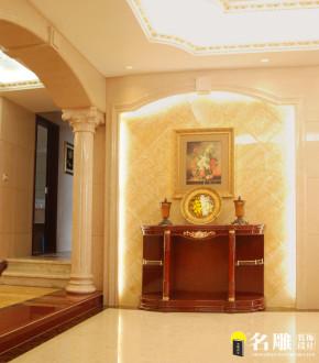 新古典 五居 低调奢华 高富帅 名雕装饰 客厅 卧室 玄关图片来自名雕装饰设计在新古典—285平五居室温馨家居的分享