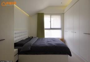 简约 收纳 小资 80后 文艺青年 卧室图片来自幸福空间在50 m²创造流畅无垠的生活情境的分享