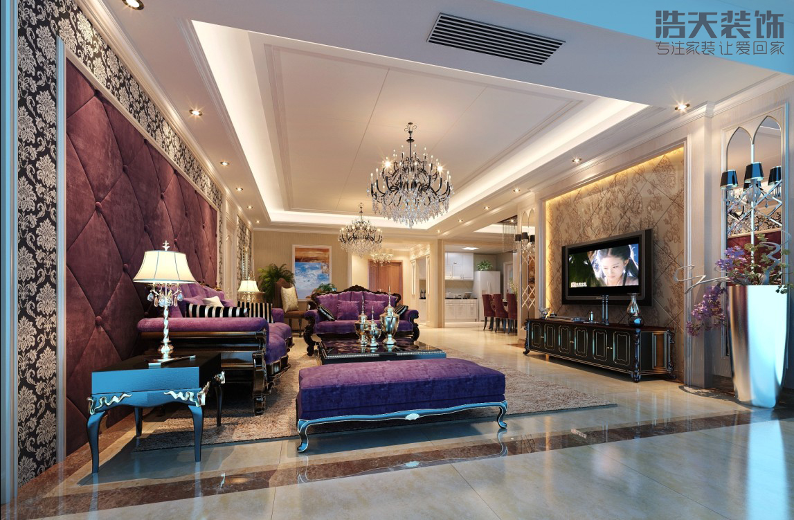 欧式 白领 收纳 80后 旧房改造 大气 上档次 奢华 客厅图片来自用户5134260392在中洲中心公园的分享