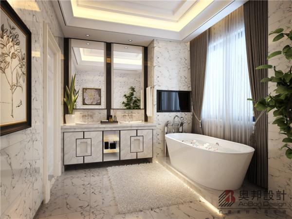 主卧室卫生间设计时尚国际范