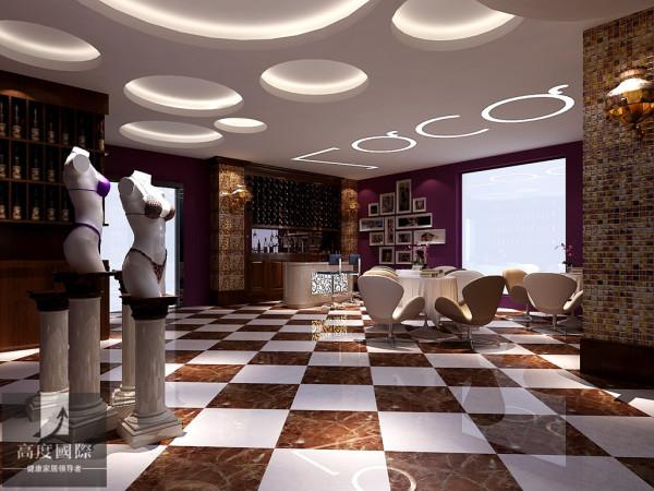 主要将现代元素和居家的元素结合在一起,给予客户一种舒服温馨的感觉,以现代人的审美需求来打造富有传统韵味的事物。本案以紫色调为主,紫色是高贵神秘的颜色,代表高贵,魅力,神秘且是一种让人不忍忘记的颜色。