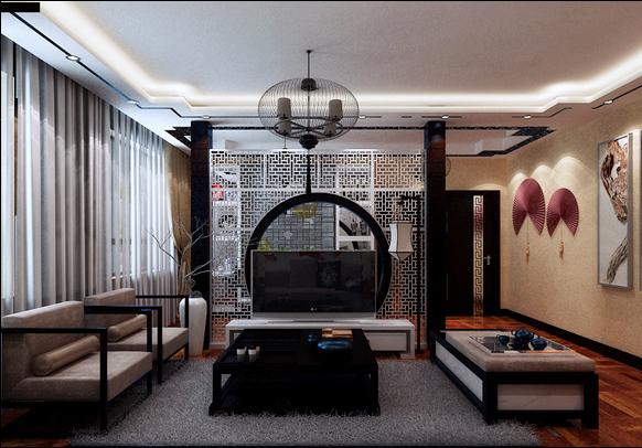 三居 80后 中式 沈阳装修 沈阳装修公 客厅图片来自用户2447812457在名流印象的分享