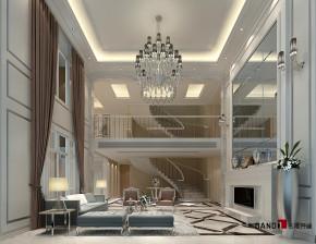 新古典 别墅 高富帅 银白光影 别墅装修 名雕丹迪 客厅图片来自名雕丹迪在新古典—500平银白光影别墅装修的分享