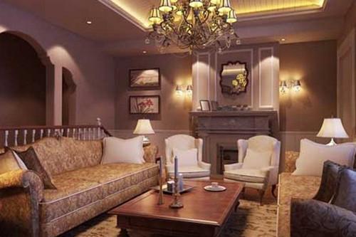 这一款是少见的风格,欧式田园风格的客厅,精细的细节做工,完美的体现了欧洲贵族的华丽与优雅。能住在这样的居室里,品味也跟着提升上来。