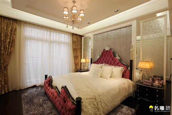 名雕装饰设计—简欧风格—卧室:低调奢华的精致生活品味