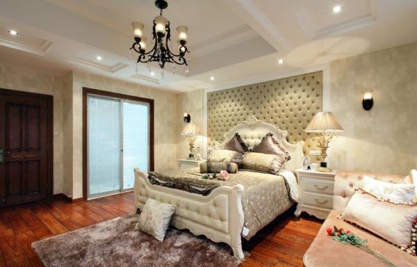 卧室 美式公主房