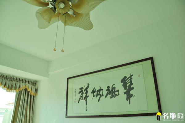 名雕装饰设计—现代风格—四居室—客厅壁画