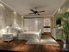 田园 三居 白领 收纳 80后 小资 高富帅 白富美 卧室图片来自北京高度国际装饰设计在长滩壹号田园浪漫公寓的分享